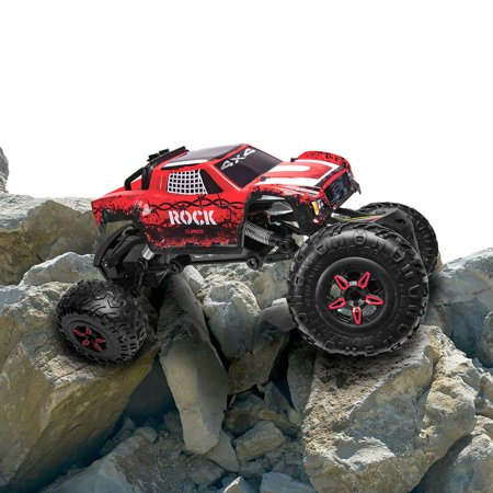 Rock Climber RC 4 Wheel Drive Truck Ages 8 and Up