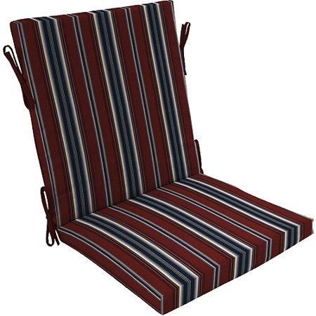 lyndhurst chair cushion red white and blue
