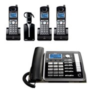 RCA ViSYS 25270RE3 + (2) 25055RE1  RCA 2 Line Corded/Cordless Phone + headset
