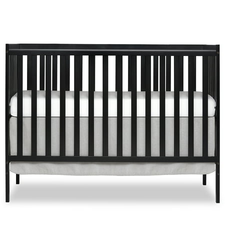 Dream On Me Synergy 5-in-1 Convertible Crib Black - New Carters Baby Crib
