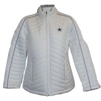 b44713a29e0a6 Product Image Dallas Cowboys Women's White Milestone Quilted Jacket