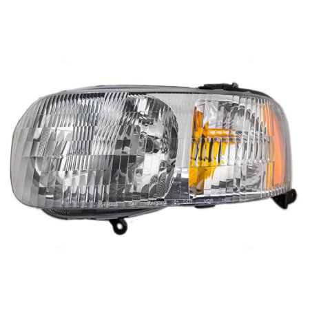 Drivers Headlight Headlamp Lens Replacement for Ford SUV 4L8Z 13008 AB