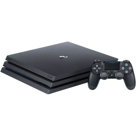 Sony PlayStation 4 Pro 1TB Gaming Console - Wireless Game Pad - Black