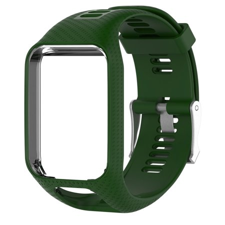 Replacement Silicone Band Strap For TomTom Spark / 3 Sport GPS Watch AG ()