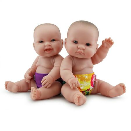 Rumparooz Doll Diaper Set - tokiCorno & Orchid