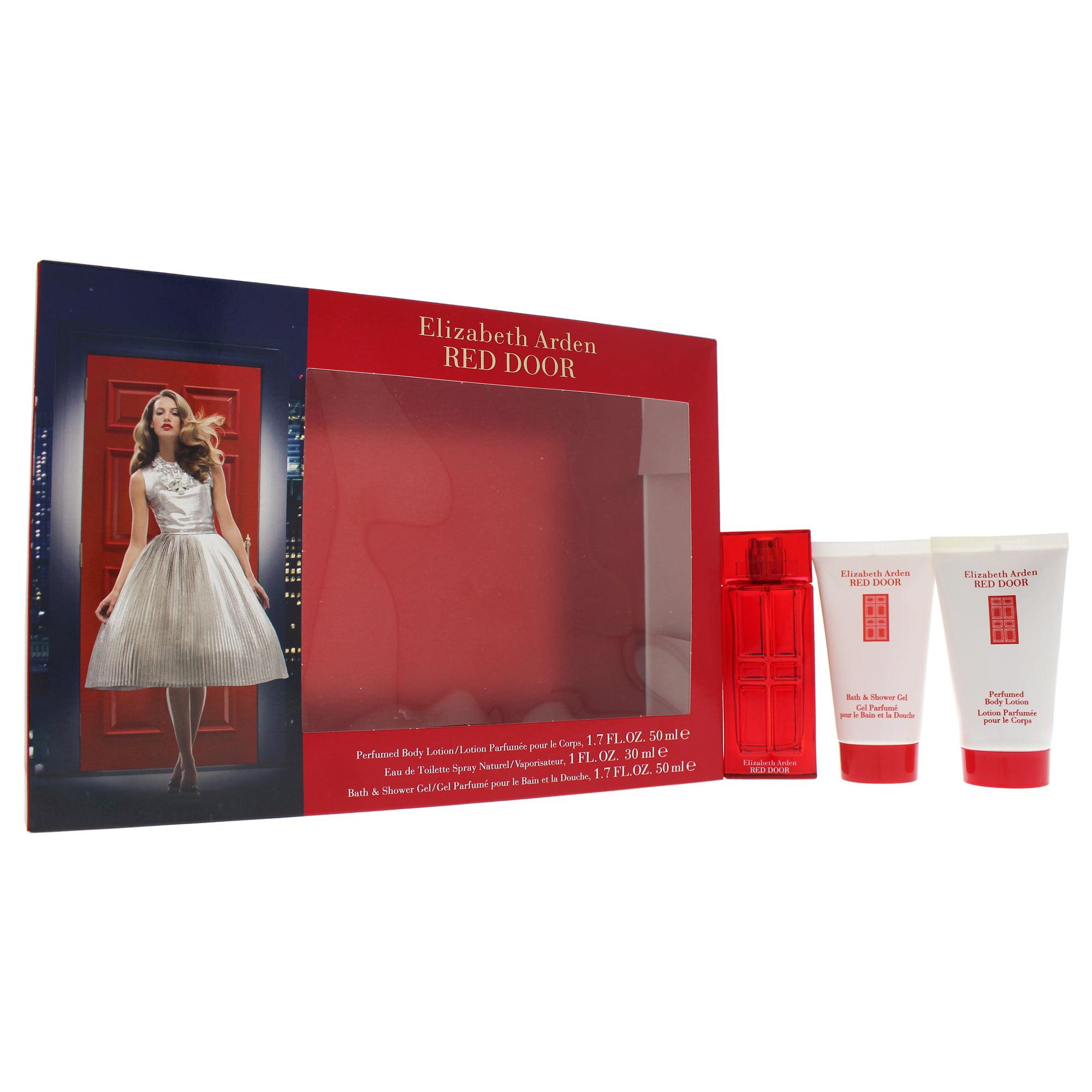 Elizabeth Arden Red Door Perfume Gift Set For Women 3 Pc Gift Set