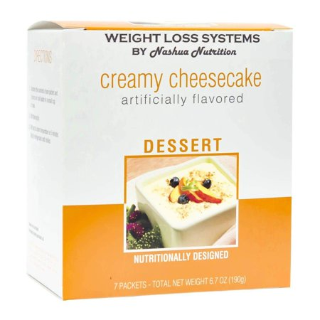 Weight Loss Systems Pudding - Creamy Cheesecake - High Protein 12g - Low Calorie - Low Carb - 15% DV Calcium - 0 Trans Fat - 7/Box