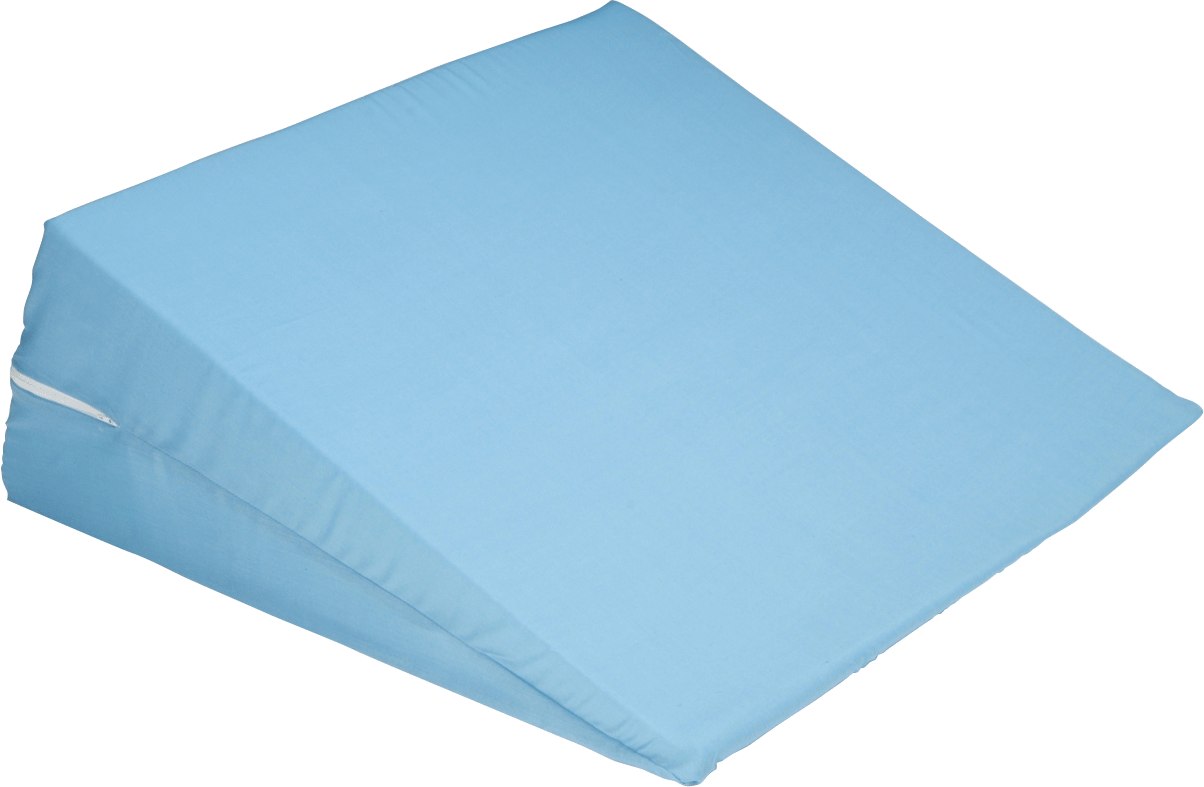 cover for bed wedge pillow 24 x 24 x 10 blue part no