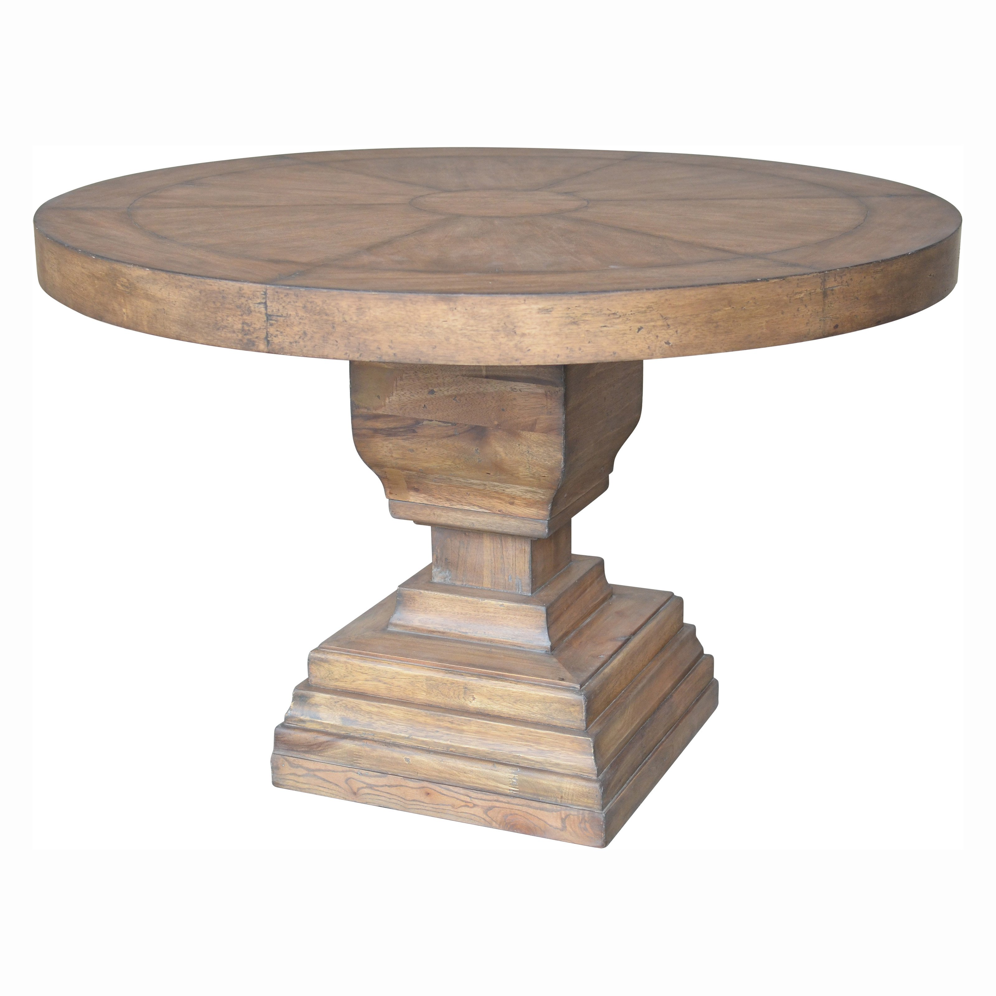 A & B Home Coleridge Pedestal Dining Table by