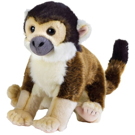 - Lelly National Geographic Plush, Squirrel Monkey