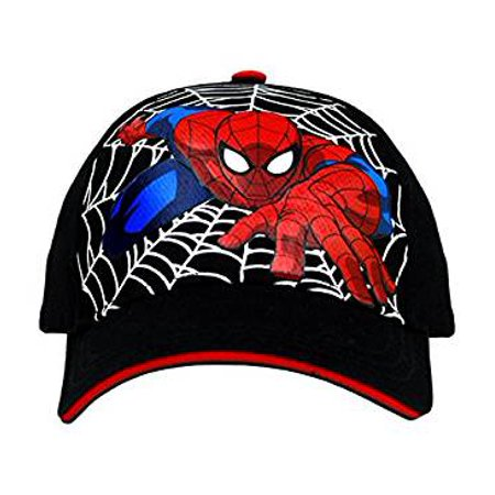 de13d406915e37 Spiderman - Baseball Cap - Marvel - Spiderman Climb Web Black adjustable  Kids/Youth SPU1642 - Walmart.com
