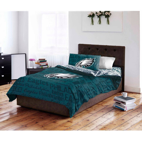 NFL Philadelphia Eagles Bed in a Bag Complete Bedding Set