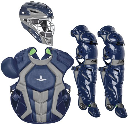 All-Star System7 Axis NOCSAE Adult Baseball Catcher's Package All Star Baseball Ball