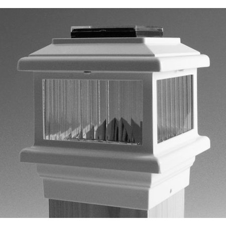 Aurora Deck - Aurora Polaris Solar LED Deck Post Light 4-1/2