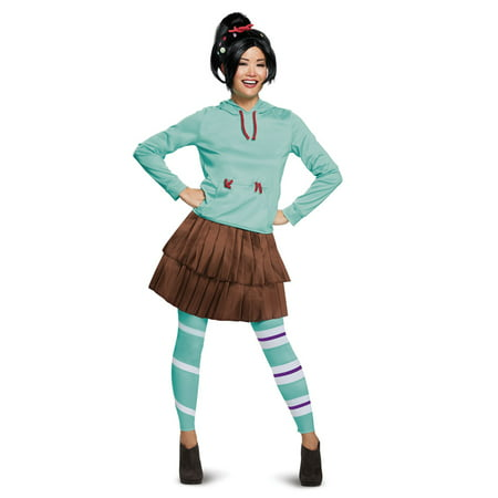 Womens Deluxe Vanelope Wreck It Ralph Costume (Vegas Costumes For Womens)
