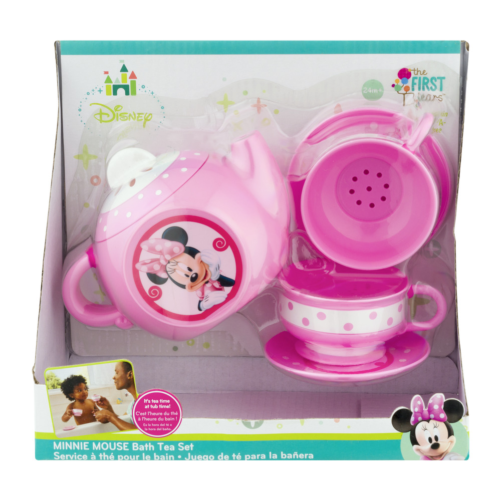 the first years disney baby minnie mouse bath tea set - walmart