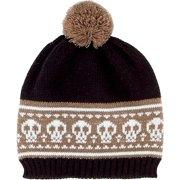 San Diego Hat Company Kid's Knit Pom Beanie L GRAY