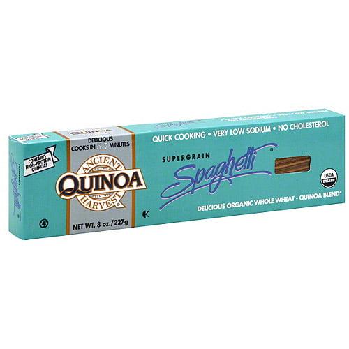 Ancient Harvest Quinoa Supergrain Spaghetti Pasta, 8 oz (Pack of 6)
