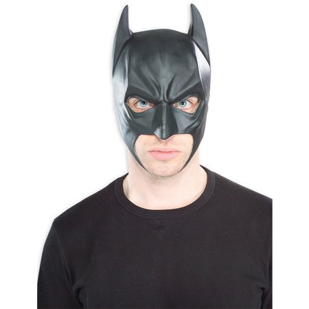 Batman Mask Adult Halloween Accessory - Michael Keaton Batman Mask