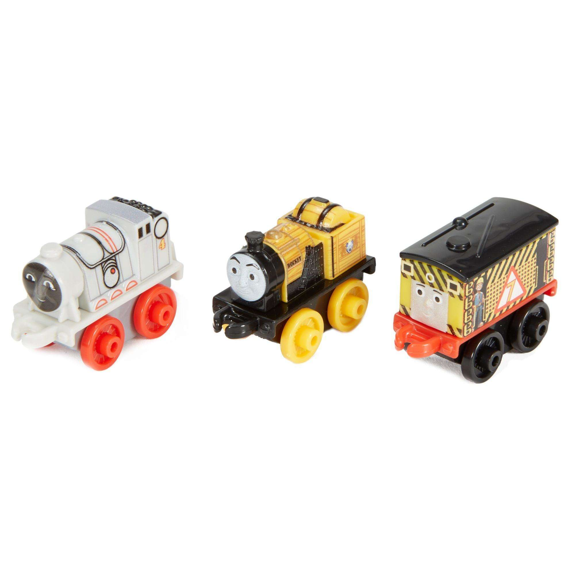 Thomas & Friends MINIS - Space Gordon, Construction Toby & Classic Stephen