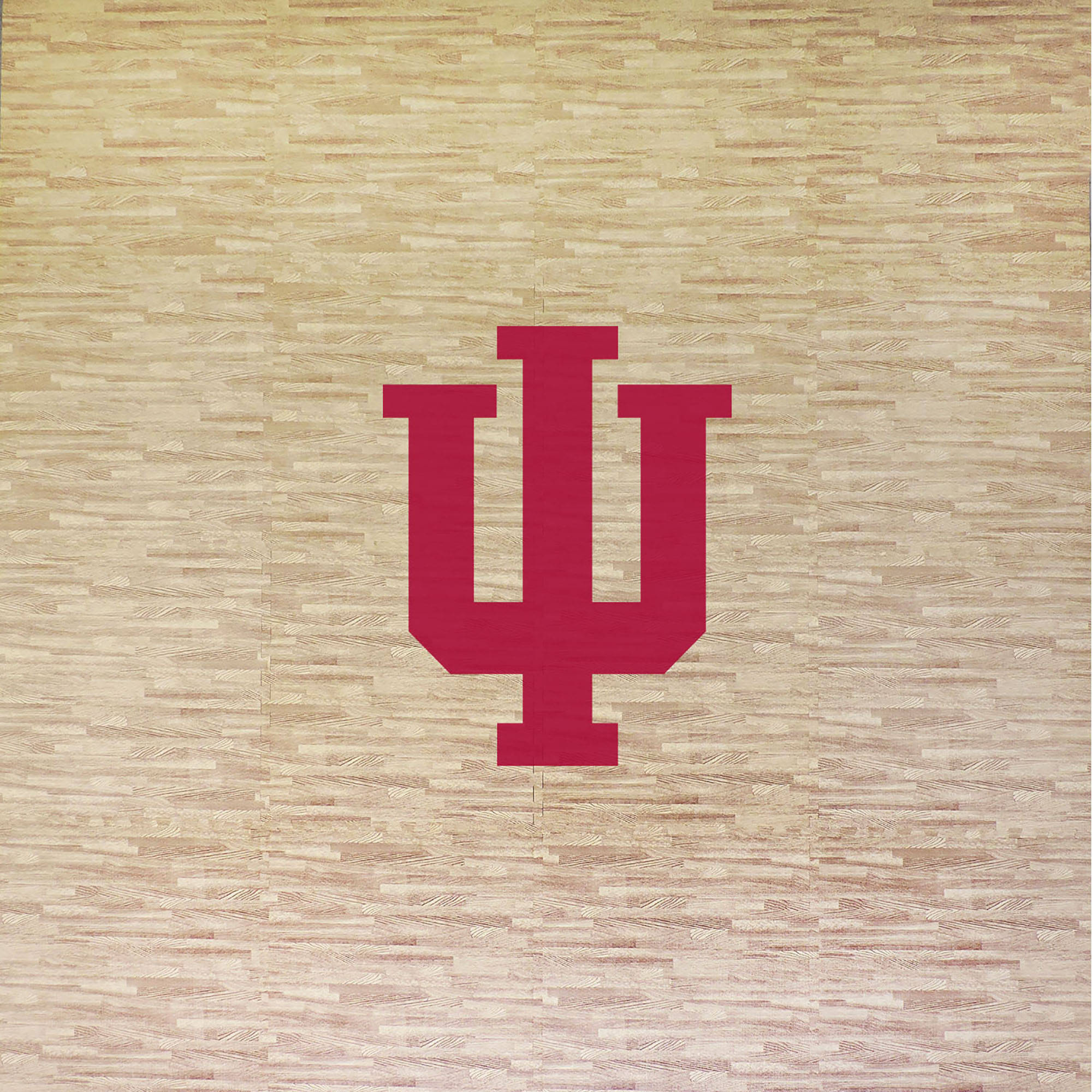 University of Indiana Portable Foam Puzzle Tailgate Floor Mat by