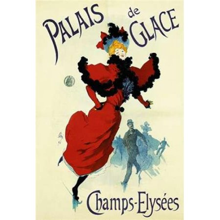 Bentley Global Arts PDX294668LARGE Palais De Glace Poster Print by Jules Cheret, 24 x 36 - Large - image 1 of 1