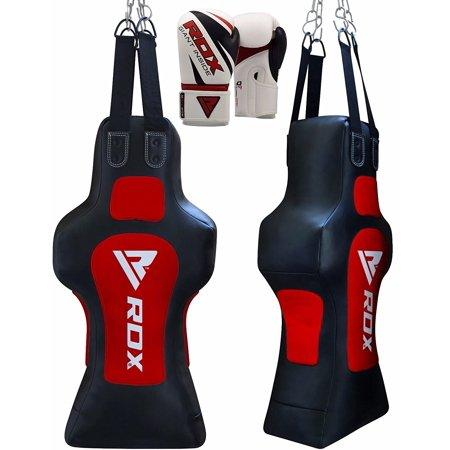 Dummy Bag (RDX Heavy Punching Torso Filled Punch Bag Dummy Boxing Gloves Chains Set)