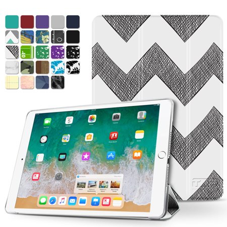 iPad Air 2 Case - Slim Lightweight Shell Smart Cover Stand, Hard Back Protection with Auto Sleep Wake for Apple iPad Air 2