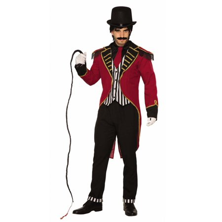 Dashing Ringmaster Mens Adult Circus Performer Halloween Costume-Std