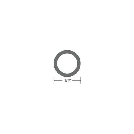 Taco Metals 50' Black Flexible Vinyl Rub Rail Insert -