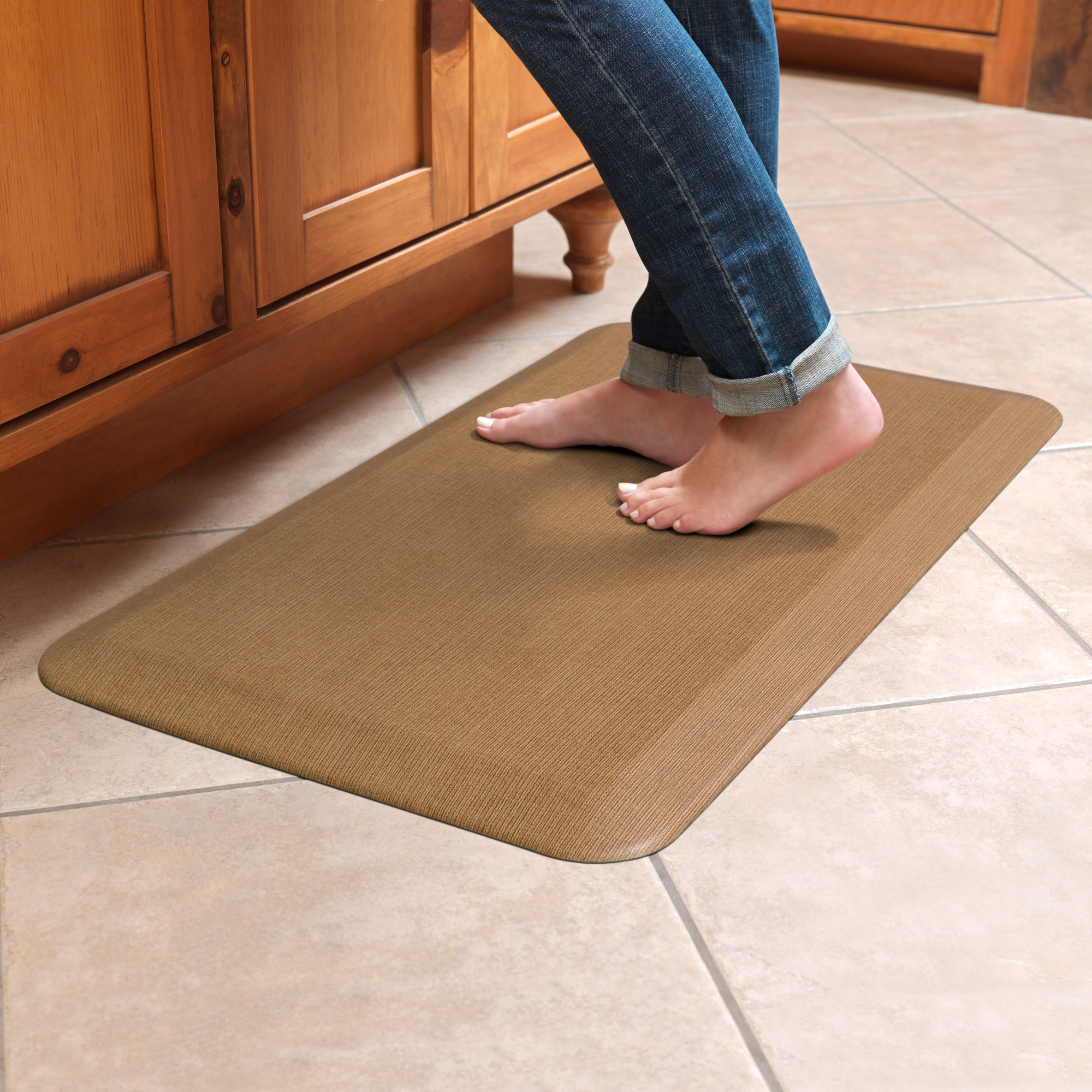 NewLife by GelPro Anti-Fatigue Comfort Mat 20x32 Grasscloth ...