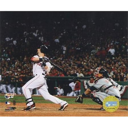 Dustin Pedroia -07 ALCS Game 7 Home Run Sports Photo - 10 x 8 2003 Alcs Game 7
