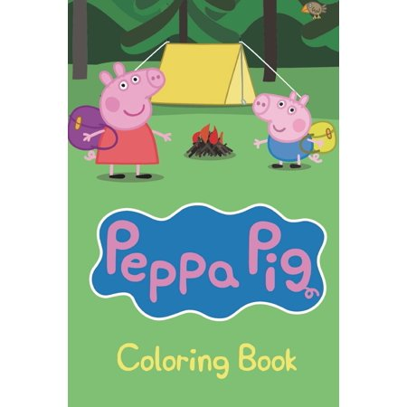 Peppa Pig Coloring Book : Over 40 Wonderful Peppa Pig Drawings to Color! - Peppa Pig Painting