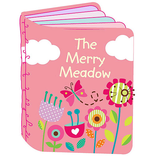 Creative Cuts Nursery Soft Fabric Story Book Kit, Merry Meadow