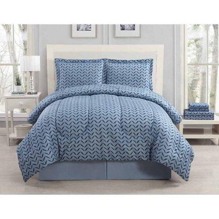 Bed N Bag Comforter Sets Mainstays Coral Damask Bedding