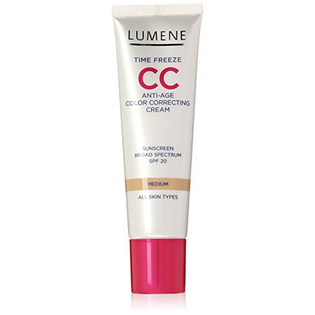 f4fc9866eee Lumene Time Freeze CC Cream, Medium, 1.0 Fluid Ounce - Walmart.com