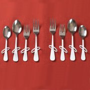 Ableware 746170006 Finger Loop Utensils-Dinner Fork-Right Hand