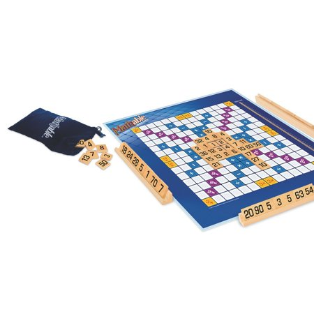 Board Game, Math lovers will flex their mental muscles while playing Mathable Deluxe - the tiled equations game! By Mathable from USA