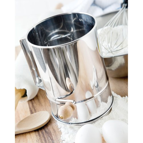 Fox Run Craftsmen 4-Cup Stainless steel Flour Sifter by