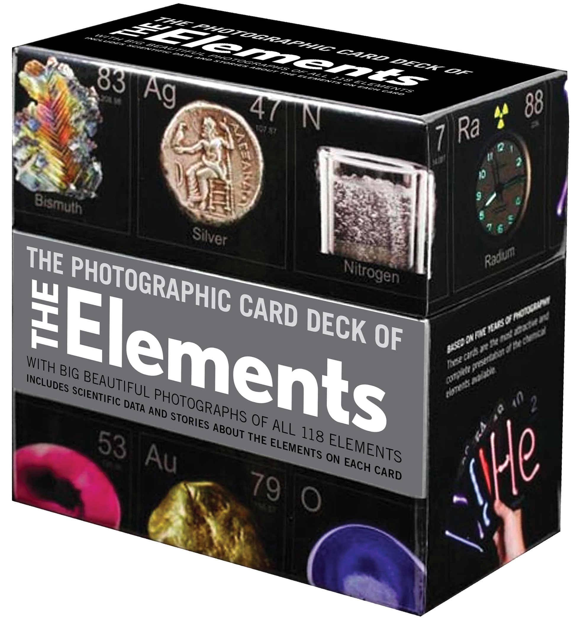 Photographic Card Deck of The Elements : With Big Beautiful Photographs of All 118 Elements in the Periodic Table