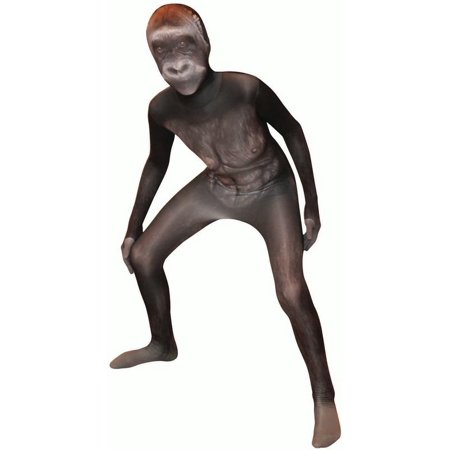 Morphsuits Silverback Gorilla Kids Animal Planet Costume - size Medium 3'6-3'11 (105cm-119cm)](Planet Costumes)
