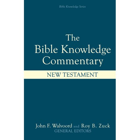 Bible Knowledge Commentary: New - Bible Toys