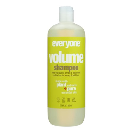 EO Products - Shampoo - Sulfate Free - Everyone Hair - Volume - 20 fl oz Eo Coconut Shampoo