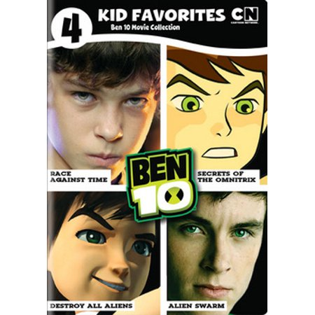 4 Kids Favorite: Ben 10 Movie Collection (DVD) - Favorite Movie Characters Halloween