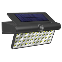Hyper Tough 1500 Lumen LED Motion Activated Solar Path Light,Durable Plastic Construction