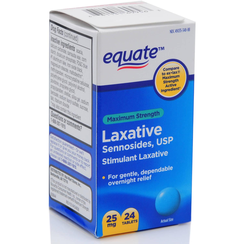 Equate Women S Stimulant Laxative 30ct Walmart Com
