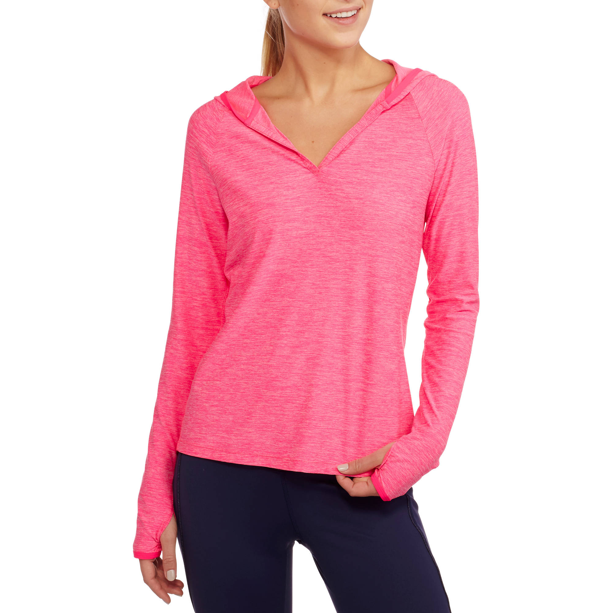 Danskin Now Women's Active Lightweight Layering Hoodie