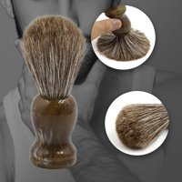 Resin Handle Horse Hair Shaving Brush for Men's Shaving Razor Grooming Tool