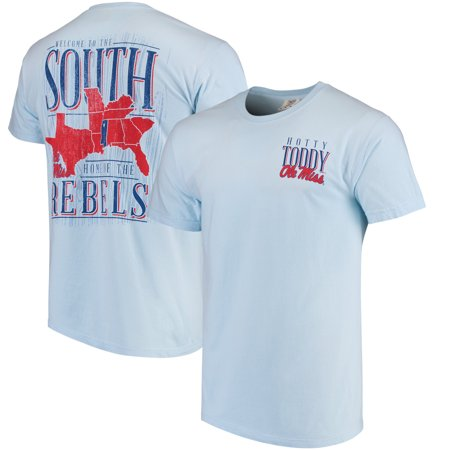 Ole Miss Rebels Welcome to the South Comfort Colors T-Shirt - Light