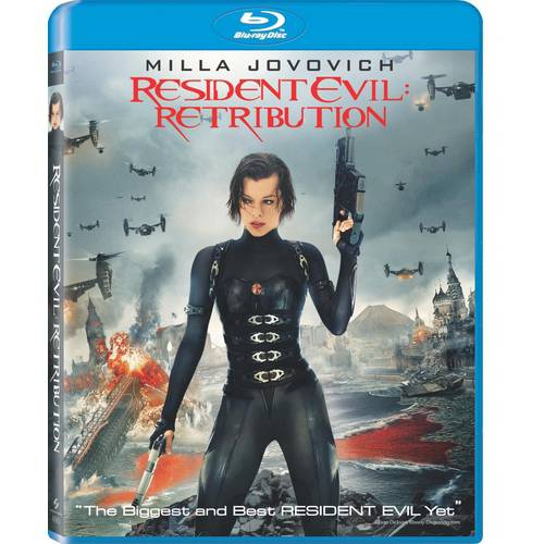 Resident Evil: Retribution (Blu-ray) (With INSTAWATCH) (Widescreen)